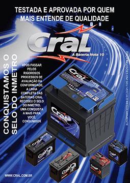 Linha de Baterias Cral.